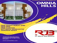 Dijual - Omnia Hills, Tangsel, pamulang, bsd, ciater, serpong, bintaro