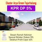 Green Tajurhalang, Subsidi DP KPR 5% Buruan, Terbatas Hanya 5 Unit