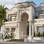 Rumah mewah design classic eropa harga murah