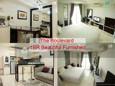 Disewa - The Boulevard 1BR Beautiful Furnished