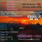 Best Deal! Apartemen Green Pramuka, Diskon up to 200 Jutaan MD781