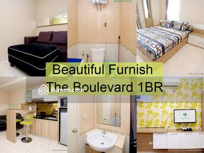 Dijual - Beautiful Furnish The Boulevard 1BR