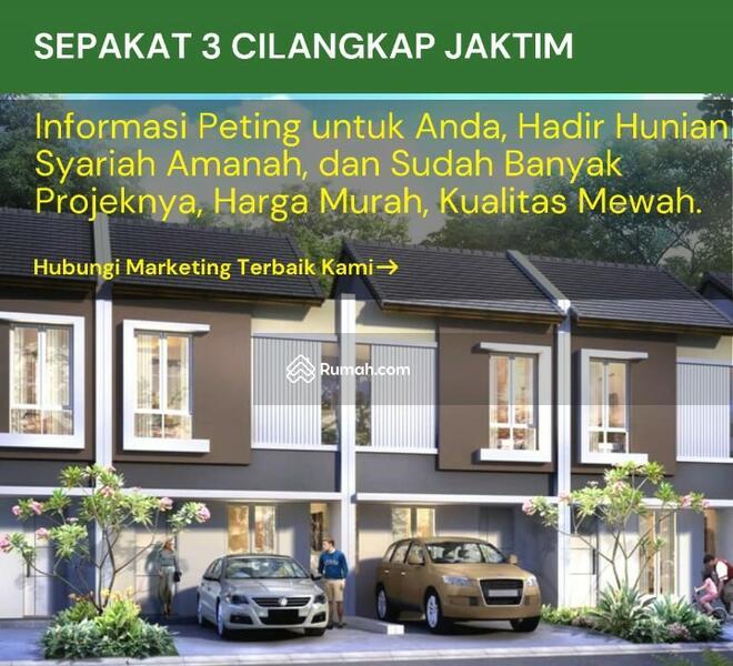 Hunian syariah 2 lantai Sepakat 3 Residence murah berkualitas #100542201