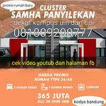 Pemasaran perumahan Samha house
