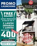 Raden V Residence 2 Lantai Konsep Townhouse Di Cibinong Diskon 80 Jt