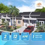 Rumah di bekasi, hanya 500 m² dari pintu tol setu selatan, harga murah akses strategis , bebas banjir