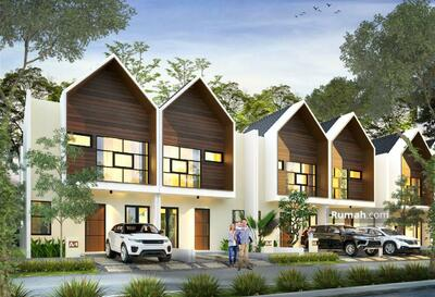 Dijual - Villa Baru Murah 2 lantai di Wassenaar Village Puncak Free SHM Bonus water heater Cipanas Puncak