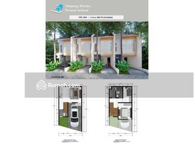 Dijual - Rumah Baru Minimalis di Simpang Darmo Permai Selatan Harga 900 juta an