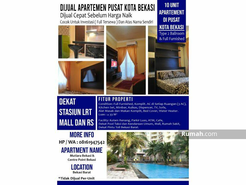 10 Unit Apartemen di Mutiara Bekasi dan Grand Center Point P0352 #101059127