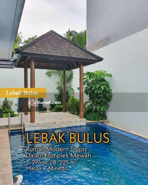 Rumah Di Lebak Bulus Siap Huni Dalam Townhouse Private Pool #105228539