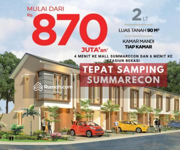 Dijual - RUMAH Vettore 3 Lantai Samping Orchard Summarecon Bekasi