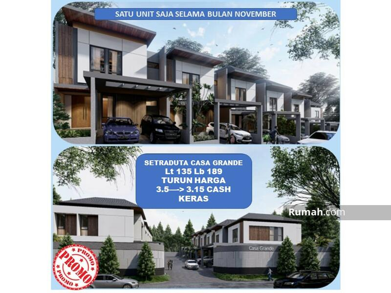 TURUN HARGA! HARGA COVID! Setra Duta cluster baru Smart Home 2,7M #101309997