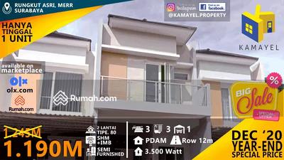 Dijual - Dijual Rumah Rungkut Asri, Surabaya, SHM, sisa 1 Unit