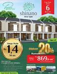 Diskon 20% Cluster Shinano Precast Mpanel JGC Siap Huni dalam 6 Bulan