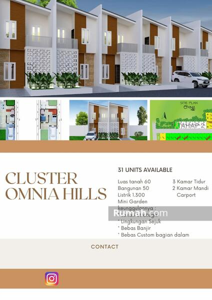 rumah pamulang cluster omnia hills #101422555