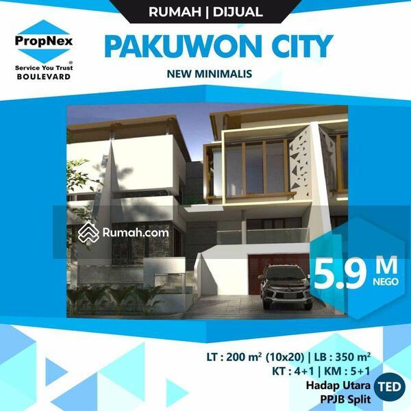 Rumah ada basement dan pool di pakuwon city Surbaya #101453185