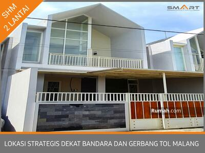 Dijual - Rumah villa strategis dekat bandara dan exit tol malang