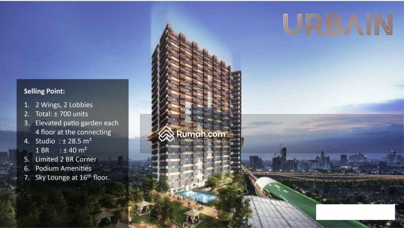 Apartemen Urban Suites Dengan Akses Langsung LRT Cikunir 1 #101725227