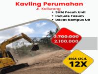 Dijual - Promo Potongan Harga Tanah Kavling Sleman Jalan Kaliurang Timur Kampus UII