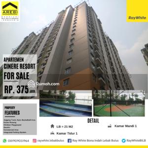 Dijual - 1 Bedroom Apartemen Cinere, Jakarta Selatan, DKI Jakarta