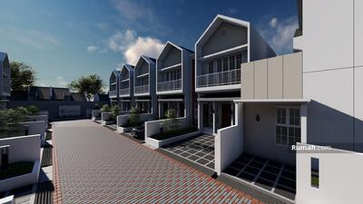Dijual - Clavica Cluster, Rumah Bergaya Amerika Pertama di Arcamanik Bandung