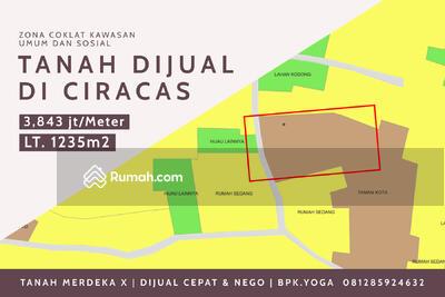 Dijual - Tanah Dijual Cepat di Ciracas ZONA COKLAT