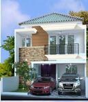 Rumah baru 2 lantai, desain Klasik modern di Jagakarsa Jakarta Selatan