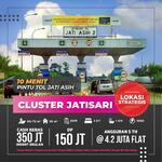 Rumah Syariah Flash Sale 5 Unit pertama Cash 350jtan indent lokasi strategis 10menit ke tol jatiasih