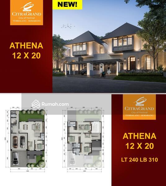 rumah mewah 2 lantai citragrand tyipe athena lokasi jalan utama #102623563