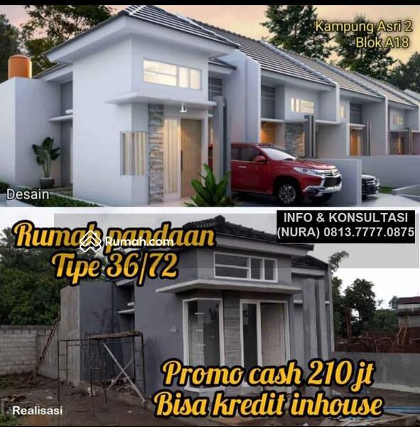 Rumah syariah murah di wedoro pandaan pasuruan  real progress 100 200 jutaan #102671803