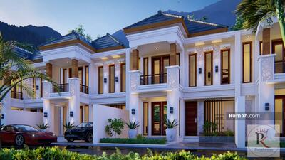 Dijual - Villa Mewah De Falva Village dengan View Pegunungan di Kota Wisata Batu Malang