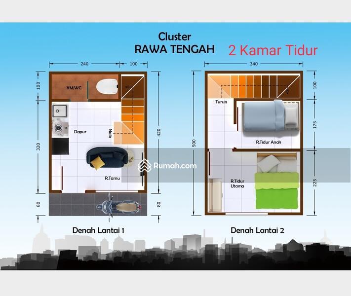 Rumah Murah Pangkalan Asem Jakarta Pusat #102760833