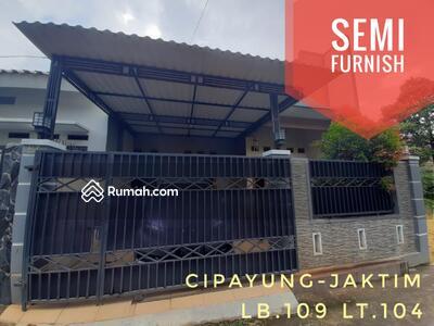 Dijual - Rumah Siap Huni Cipayung Jakarta Timur, Bonus Perabotan Cantik Pasti Tertarik