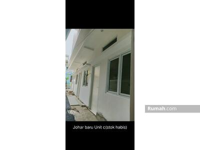 Dijual - 2 Bedrooms Rumah Kemayoran, Jakarta Pusat, DKI Jakarta