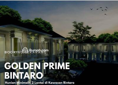 Dijual - PERUMAHAN GOLDEN PRIME BINTARO CASH BACK 15 JTA