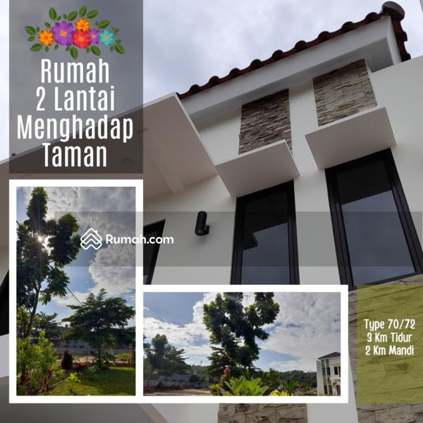 Rumah Cantik 2 Lantai Menghadap Taman Dengan View Luas. Lokasi Dipinggir Jalan Dekat Tol Cibubur. #103064569