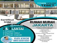 Dijual - Townhouse Gudang peluru, Tebet, Jakarta selatan