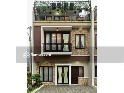 Dijual - rumah 3 lantai design modern di jatiasih bekasi