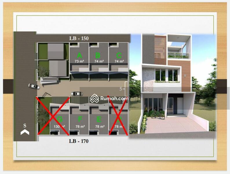 Rumah baru dijual di jakarta #103299177