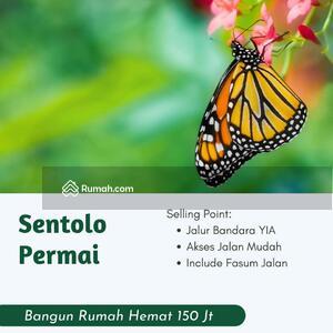 Dijual - Jalan Salamrejo Sentolo,  900 Rb-an, Area Penyangga Bandara YIA, Dijual Tanah SHM Jogja