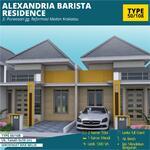 Alexandria Barista Residence Jl. Purwosari Gg Reformasi Medan Krakatau