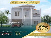 Dijual - Rumah Mewah Klasik Kolonial HARGA 500JUTA-an 2 Lantai 3 Kamar Pinggir Jalan.