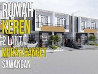 Dijual - Hot Promo Rumah Baru 2 lantai Prestige Sawangan Harga Perdana Murah
