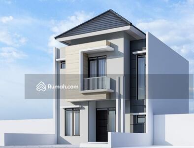 Dijual - Rumah baru minimalis 2 lantai di Batu indah