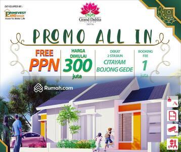 Dijual - Grand Dahlia Cluster Tersedia PlayGround & Masjid didalam cluster