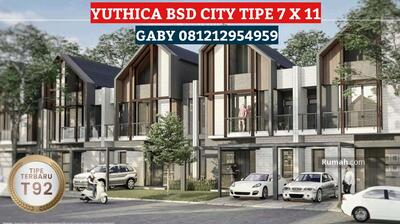 Dijual - YUTHICA BSD CITY MYZA COZMO HOUSE NON FURNISHED