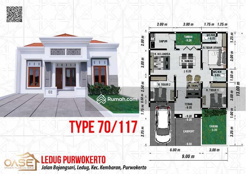 Rumah baru mewah megah Property Syariah kpr developer tanpa bank tanpa bunga di Purwokerto #103720055