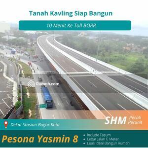 Dijual - 10 Menit ke Tol BORR; Tanah Kavling Bogor Barat, SHM Ready