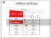 Dijual - 1 Jt-an Green Ataya, Dekat Pasar Parung