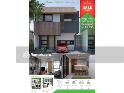 Dijual - Promo Rumah Baru 2 unit Pertama harga Perdana, dekat toll BSD, Sekolah Global Islamic School, Serpon